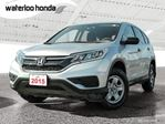 2015 Honda CR-V LX Sold Pending Pick up...Bluetooth, Back Up Camera, Heated Seats and more! in Waterloo, Ontario