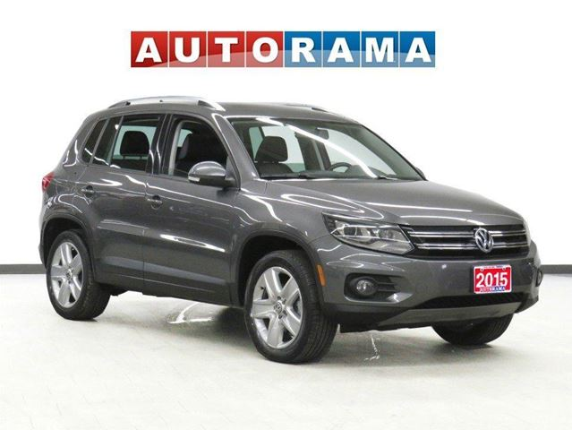 2015 VOLKSWAGEN Tiguan COMFORTLINE LEATHER PANORAMIC SUNROOF AWD in North York, Ontario