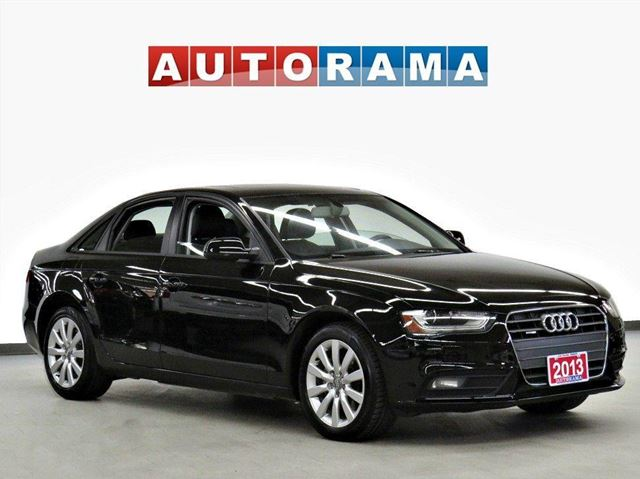 2013 Audi A4 2.0T LEATHER SUNROOF AWD in North York, Ontario