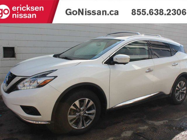 2015 NISSAN Murano SL: LEATHER, BOSE, NAVIGATION, DUAL MOON ROOF, BEIGE LEATHER in Edmonton, Alberta