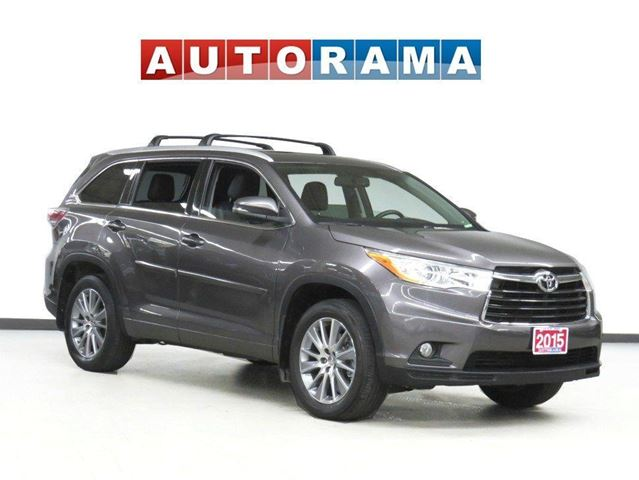 2015 TOYOTA Highlander XLE NAVI 7 PASS LEATHER PAN SUNROOF BACK UP CAM in North York, Ontario