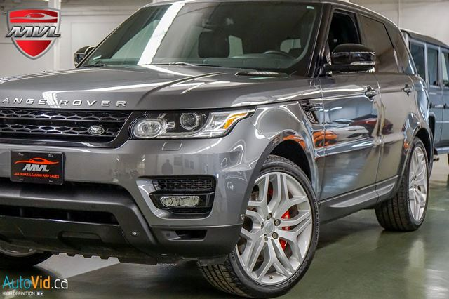 2014 LAND ROVER Range Rover Sport V8 SuperchargedBIOGRAPHY  ACCIDENT-FREE  1 OW in Oakville, Ontario