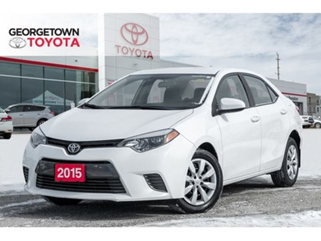 2015 TOYOTA Corolla LE BACKUP CAM HEATED SEATS BLUETOOTH A/C in Georgetown, Ontario