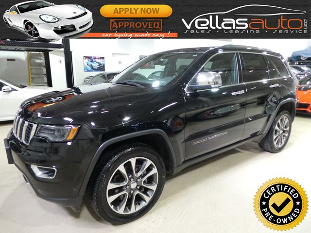 2018 Jeep Grand Cherokee Limited LIMITED| NAVI| PANORAMIC RF| LUXURY GROUP II in