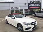 2016 Mercedes-Benz E-Class Local Trade IN RED Interior Clean History in Toronto, Ontario