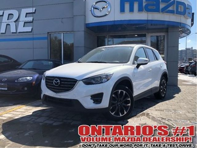 2016 MAZDA CX-5 GT-AWD,BACKUP CAM,LEATHER SEATING/1.99%.C.P.O!!! in Toronto, Ontario