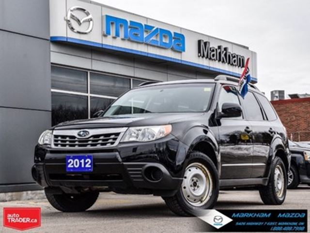 2012 Subaru Forester 2.5X Accident Free 2 Sets Tires Finance Available in