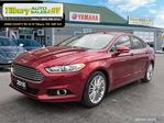 2016 Ford Fusion SE *LEATHER. BACK UP CAMERA* in Tilbury, Ontario