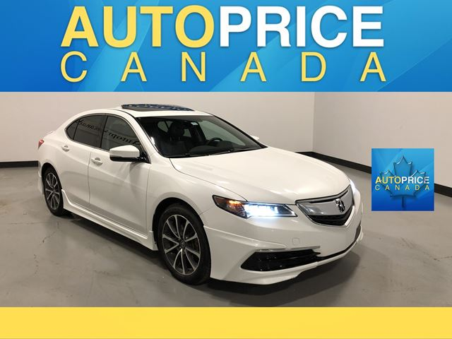 2015 ACURA TLX Tech NAVIGATION|REAR CAM|LEATHER in Mississauga, Ontario