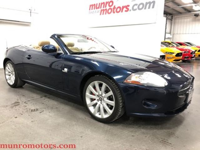 2007 JAGUAR XK Series  Convertible Navigation in St George Brant, Ontario