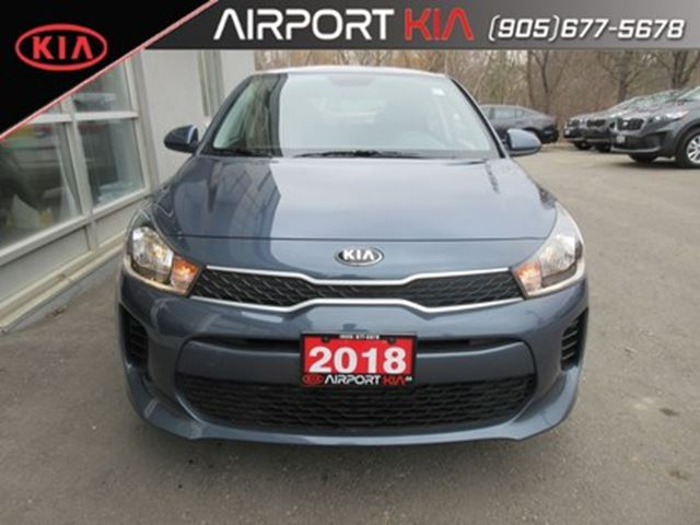 2018 KIA Rio LX+/Heated seats/Camera/Bluetooth in Mississauga, Ontario