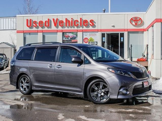 2015 TOYOTA Sienna SE 8 Pass   Leather   Alloys   R.Cam   B.Tooth in Toronto, Ontario