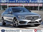 2015 Mercedes-Benz C-Class 4MATIC, PANORAMIC ROOF, REARVIEW CAMERA, NAVI in North York, Ontario
