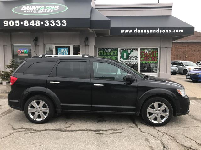 2012 DODGE Journey R/T 7PASS AWD in Mississauga, Ontario