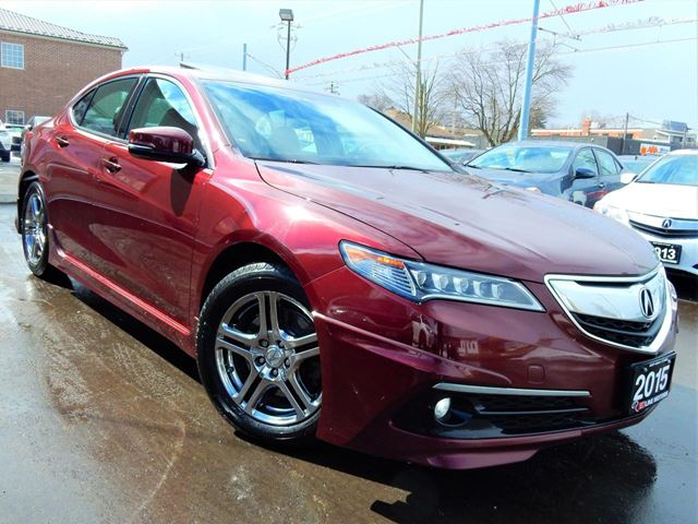 2015 ACURA TLX P-AWS TECH PKG  NAVI.CAMERA.BLINDSPOT.LANEASSIS in Kitchener, Ontario