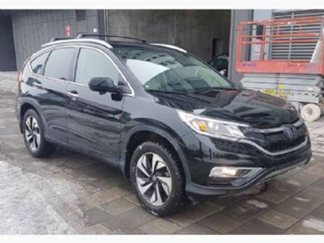 2016 HONDA CR-V TOURING AWD - 194$/BI WEEKLY -  LEASE GUARDE in Mississauga, Ontario
