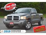 2006 Dodge Dakota SLT V6 4X4 AUTO A/C FULL PWR GRP ALLOYS in Ottawa, Ontario