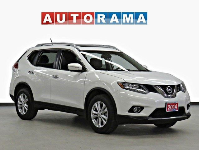2014 Nissan Rogue SV NAVI LEATHER SUNROOF 7 PASS BACK UP CAM AWD in North York, Ontario