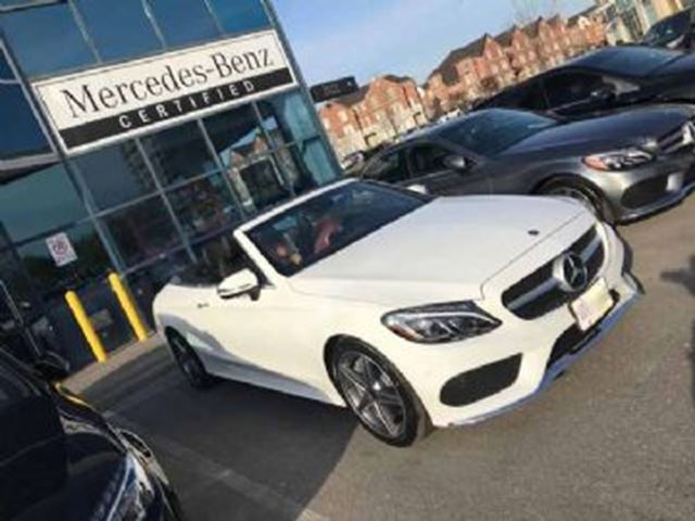 2018 MERCEDES-BENZ C-Class C 300 4MATIC Cabriolet in Mississauga, Ontario