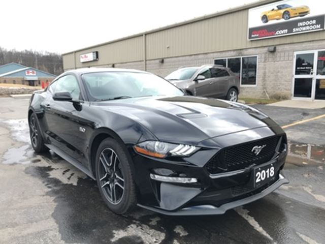 2018 FORD Mustang GT Automatic Navigation Low Kms in St George Brant, Ontario