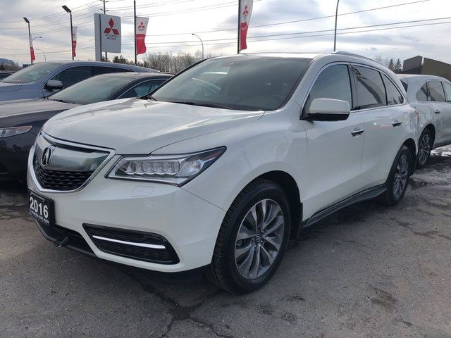 2016 Acura MDX Navigation Package in