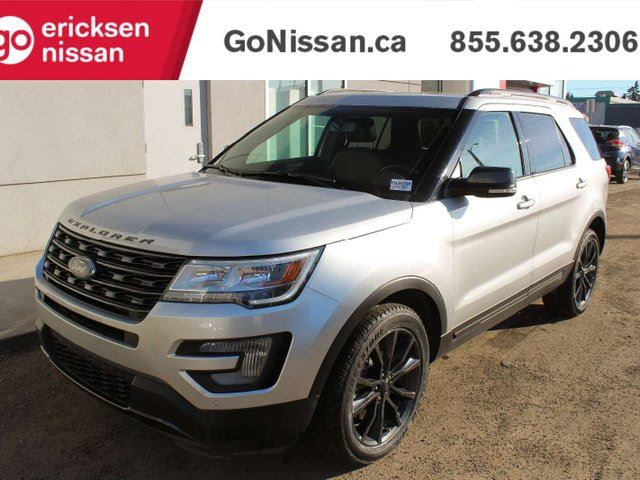 2017 FORD Explorer XLT: 4X4 4WD, SPORT PACKAGE, NAVIGATION, BACKUP CAMERA, PARKING SENSORS, LEATHER, SUNROOF, THIRD ROW SEATING in Edmonton, Alberta