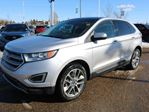 2015 Ford Edge TITANIUM, 302A, 2.0L ECOBOOST, FWD, SYNC, NAV, REAR CAMERA, HEATED/COOLED FRONT SEATS, HEATED STEERING, HEATED REAR SEATS, LANE DEPARTURE, PANORAMIC ROOF, REVERSE SENSING, LTHR in Edmonton, Alberta