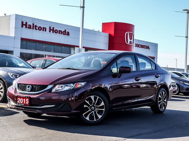 2015 HONDA CIVIC LXONE OWNER in Burlington, Ontario