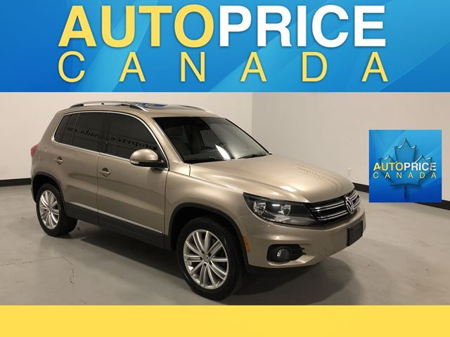 2015 VOLKSWAGEN Tiguan Highline NAVIGATION|PANOROOF|LEATHER in Mississauga, Ontario