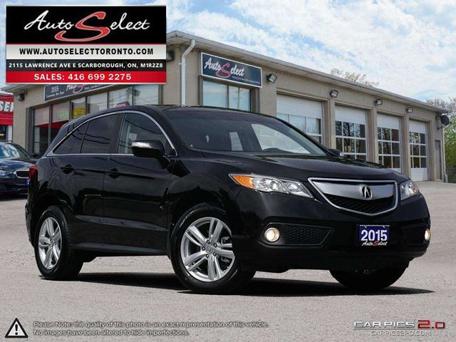 2015 ACURA RDX AWD ONLY 89K! **BACK-UP CAMERA** CLEAN CARPROOF in Scarborough, Ontario