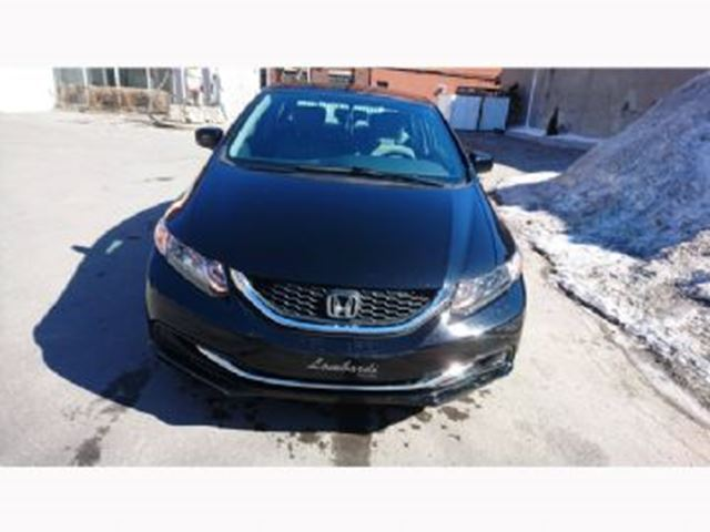 2015 HONDA CIVIC LX-Garantie prolong+¬e & Hazard de route in Mississauga, Ontario