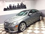 2012 Mercedes-Benz E-Class Coupe in Calgary, Alberta