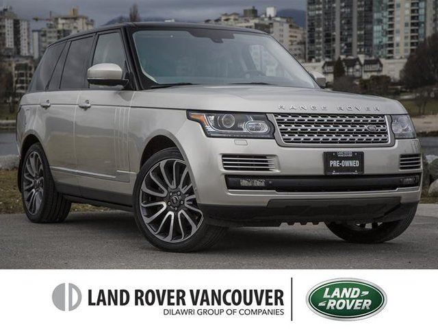 2014 LAND ROVER Range Rover V8 Autobiography in Vancouver, British Columbia