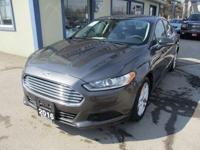 2016 Ford Fusion GAS SAVING SE MODEL 5 PASSENGER 1.5L - ECO-BOOS in