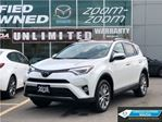 2016 Toyota RAV4 Limited,AWD,NAVI,LEATHER,ROOF ALLOYS,NO ACCIDENT in Toronto, Ontario