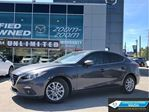 2015 Mazda MAZDA3 GS,REAR CAM,ALLOYS,SUNROOF,BLUETOOTH,NO ACCIDENT in Toronto, Ontario