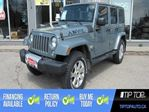 2015 Jeep Wrangler Unlimited Sahara ** Nav, Leather, Automatic ** in Bowmanville, Ontario