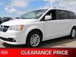 2018 Dodge Grand Caravan SXT PREMIUM PLUS Accident Free, Rear DVD, Leather, Back-up Cam, A/C, - Used Dodge Dealer in Sherwood Park, Alberta