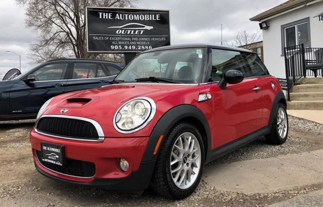 Used 2010 Mini Cooper S Leather Sunroof No Accident Mississauga