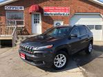 2014 Jeep Cherokee North 4x4 Panoramic Sunroof Alloys Back Up Came in Bowmanville, Ontario