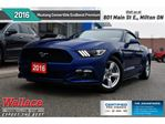 2016 Ford Mustang EcoBoost Premium/HTD&CLD LTHR STS/NAV/9-SPKR in Milton, Ontario
