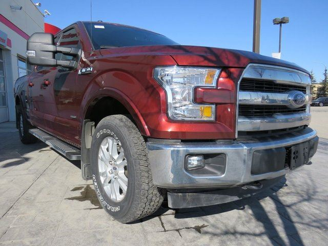 2017 Ford F-150 Lariat *Tow Pkg, Leather, Navi, EcoBoost* in