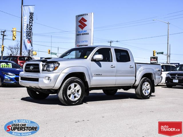 Used Tires Barrie >> 2007 Toyota Tacoma Double Cab Sr5 Trd 4x4 Barrie Ontario