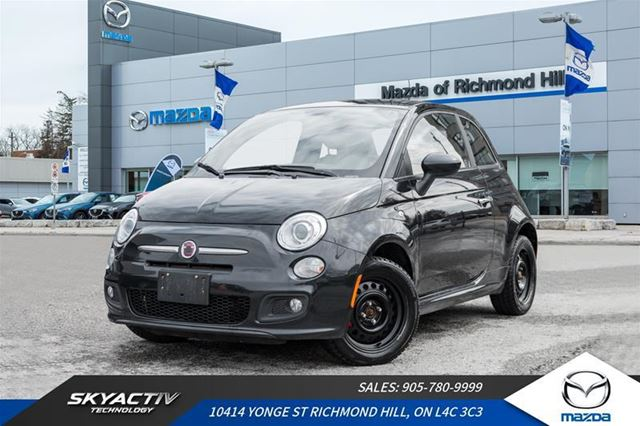 2012 FIAT 500 Sport ACCIDENT FREE*LEATHER*TWO SETS OF TIRES in Richmond Hill, Ontario