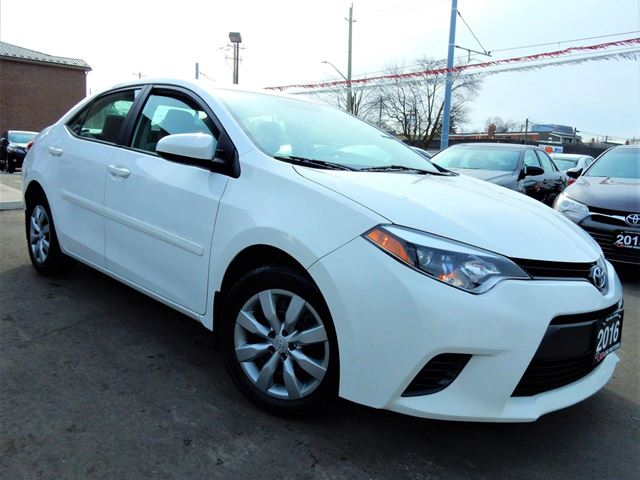 Used 2016 Toyota Corolla Le Auto Back Up Cam Heated Seats One Owner