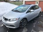 2015 Honda Civic EX-L, Extended Warranty + Excess Wear Protection in Mississauga, Ontario