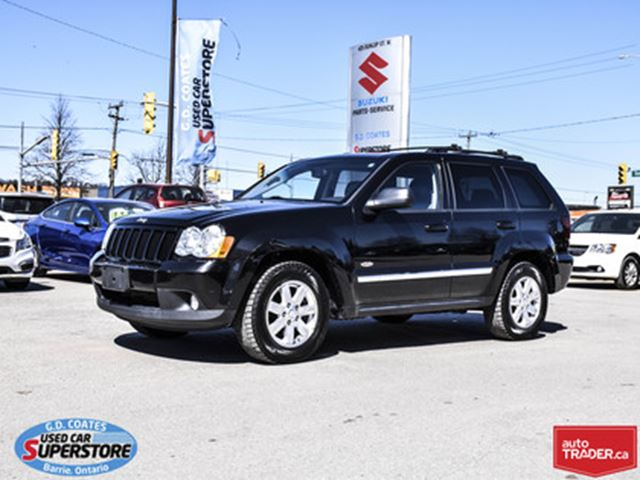 Used Tires Barrie >> 2010 Jeep Grand Cherokee North 4x4 Heated Leather Power