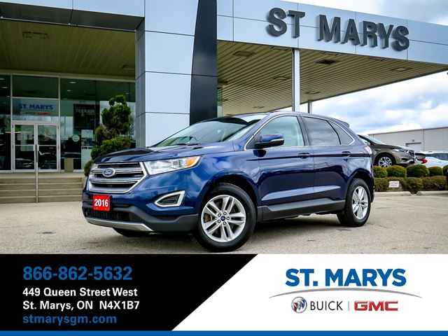 2016 FORD Edge SELAWDLeatherBTBackup CamNaviHeated seat in St Marys, Ontario