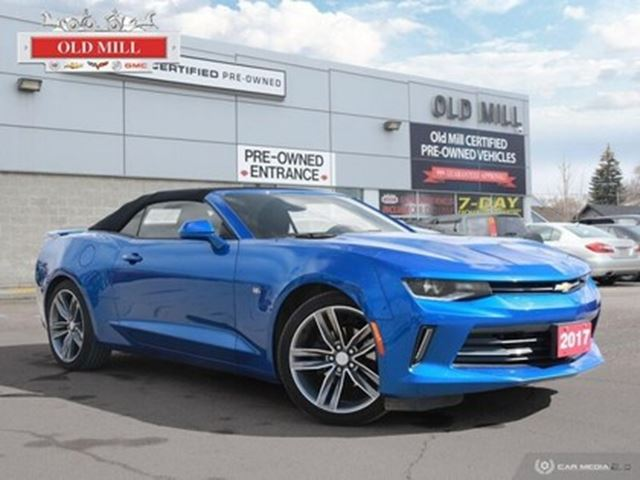 2017 CHEVROLET Camaro LT 1 Owner & Bought Serviced @ OLD Mill + SET Tire in Toronto, Ontario