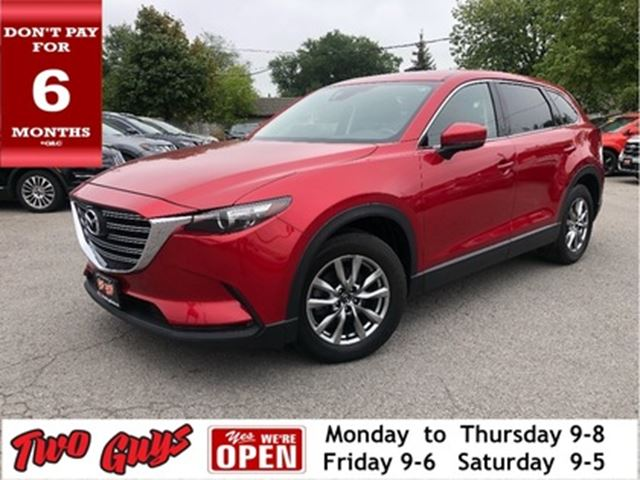 2017 MAZDA CX-9 GS  AWD   7Pass  Leather   Nav  Sunroof in St Catharines, Ontario